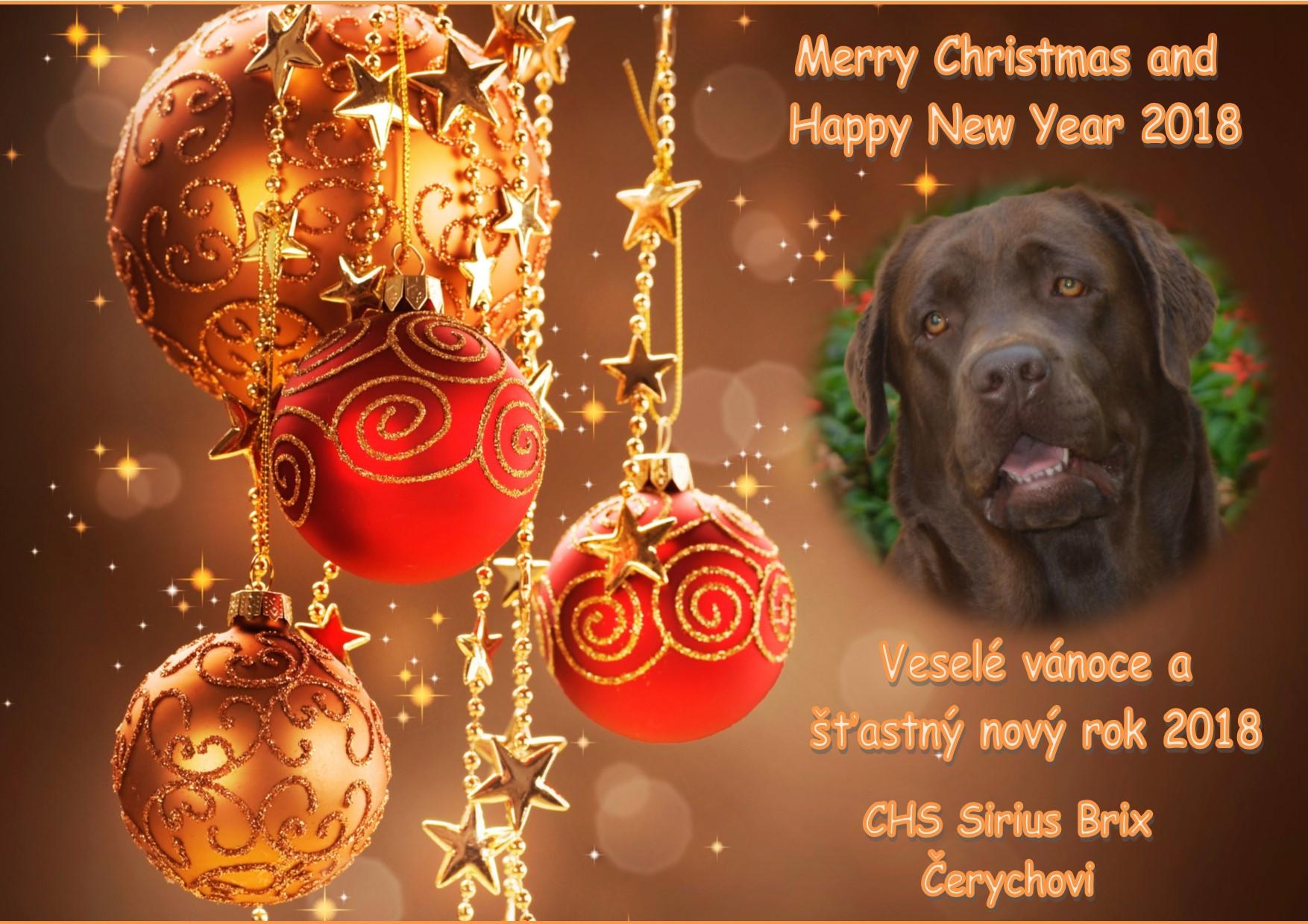 vánoční přání 2017-18